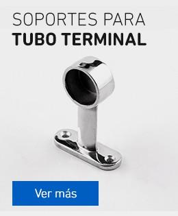 Soportes para tubo terminal